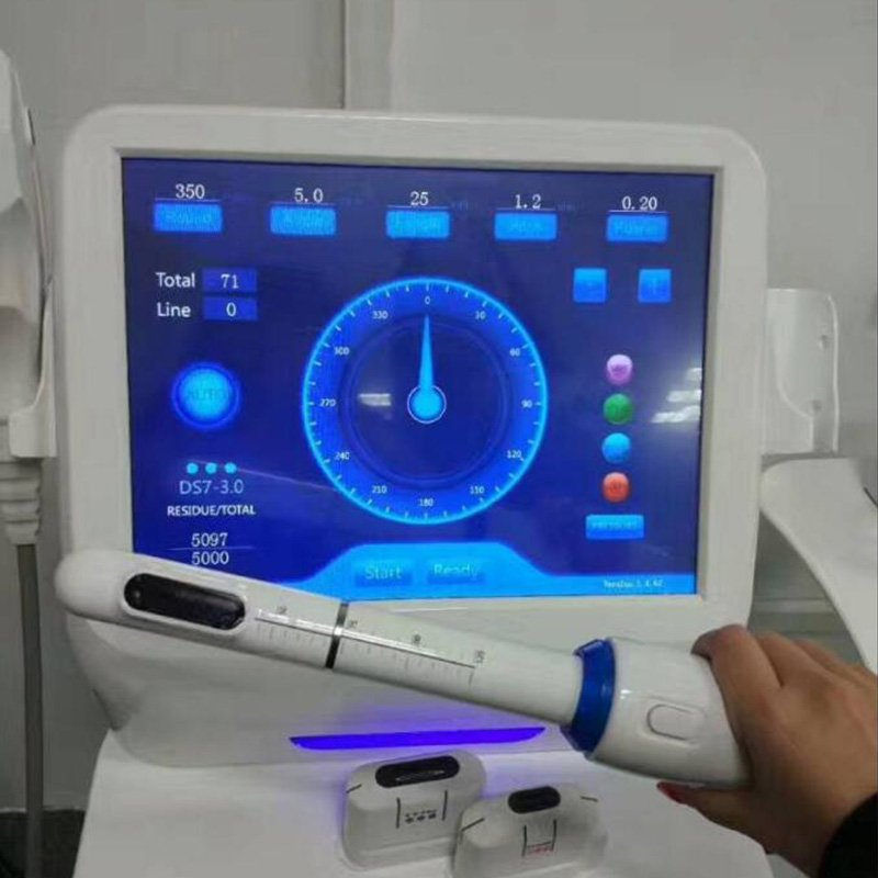 Hifu face lifting and vaginal tightening 2 in 1 machine is hot selling HIF3-3S